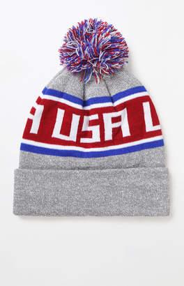 USA Knit Pom Beanie