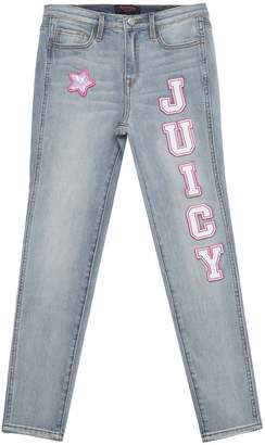 Juicy Couture Juicy Collegiate Patch Skinny Jean for Girls