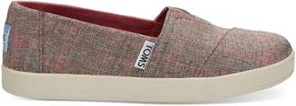 Red Washed Plaid Women's Avalon Slip Ons