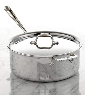 All-Clad Stainless Steel 6 Qt. Covered Ultimate Deep Saute Pan