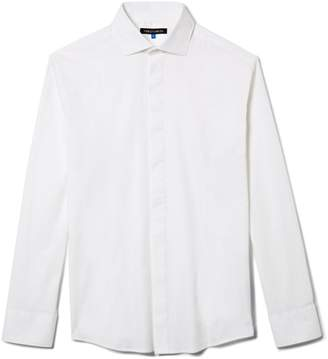 Vince Camuto Covered-placket Dress Shirt