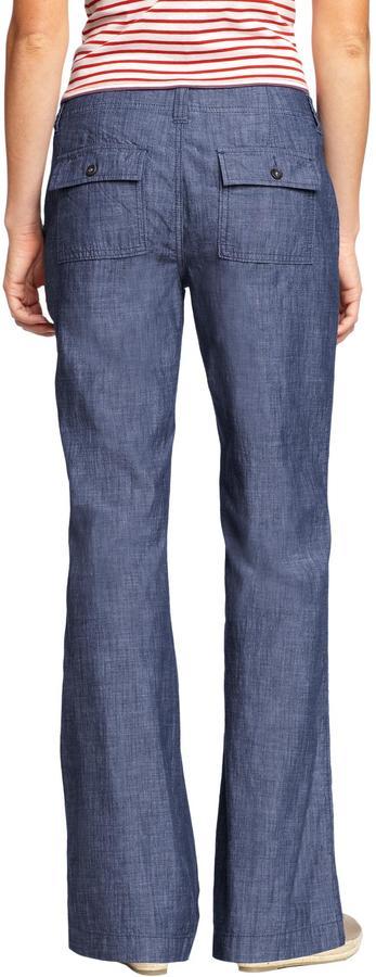 Women's Chambray Trousers 2