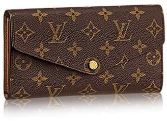 Louis Vuitton Authentic Louis Monogram Canvas Sarah Wallet Article: M60531