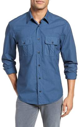 Billy Reid Brantley Slim Fit Sport Shirt
