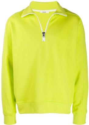 Zilver Front Zip Sweatshirt in Organic Cotton