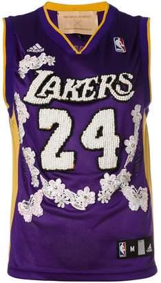Night Market Lakers NBA 刺繍タンクトップ