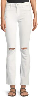 DL1961 Premium Denim Bridget Instasculpt Distressed Narrow Boot-Cut Jeans