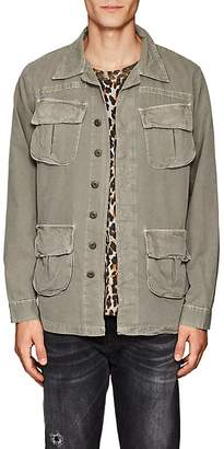 NSF Men's Cotton Canvas Shirt Jacket