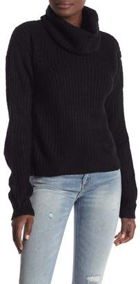 Ten Sixty Sherman Long Sleeve Cowl Neck Pullover Sweater