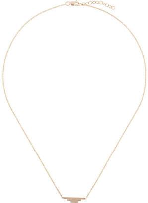 By Boe triple bar necklace