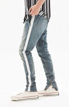 PacSun Drop Skinny Side Stripe Medium Jogger Pants