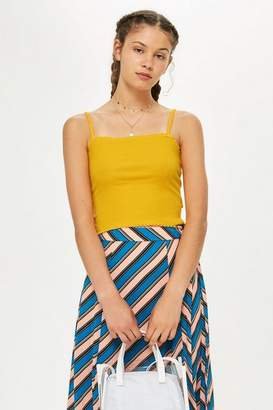 Topshop Tall Riley Lettuce Camisole Top