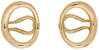 Charlotte Chesnais Gold Naho Ear Cuffs