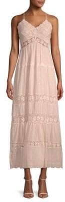 Rebecca Taylor Lace Cotton Day Dress