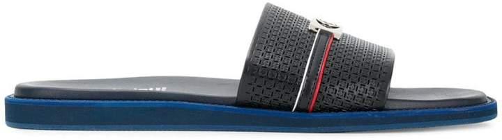 Baldinini logo open-toe sandals