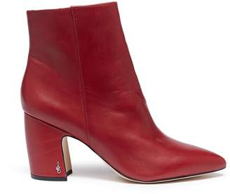 Sam Edelman 'Hilty' crinkled leather ankle boots