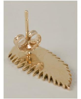 Alison Lou palm leaf earring $650 thestylecure.com