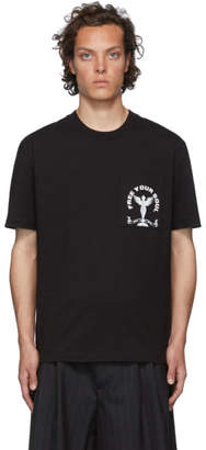 McQ Black Free Your Soul T-Shirt