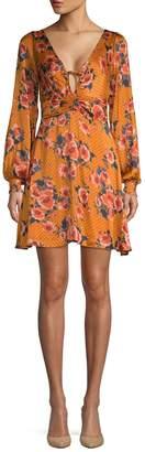 Free People Morning Light Mini Dress