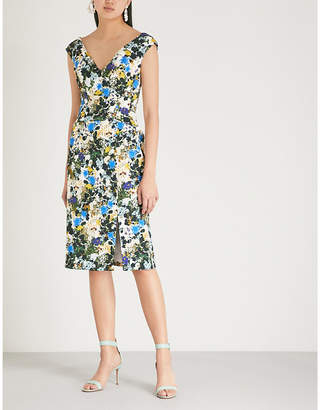 Erdem Jyoti jacquard dress