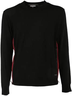 DSQUARED2 Zip Panel Sweater