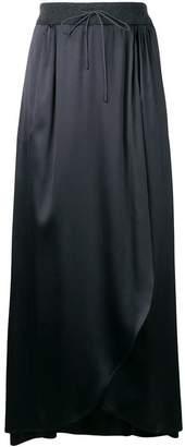 Fabiana Filippi asymmetric maxi skirt