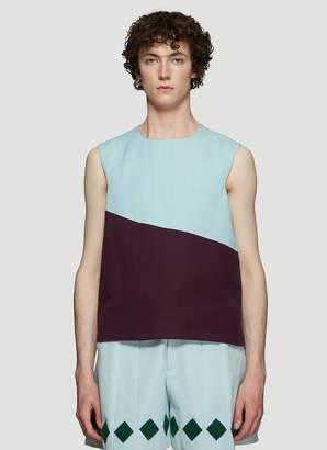 Namacheko Sorna Vest Top in Blue and Purple