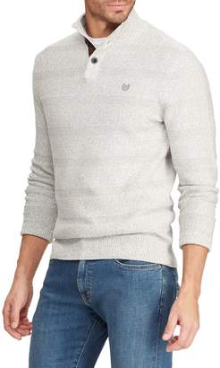 Chaps Big Tall Mockneck Cotton Sweater