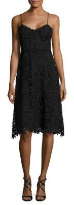 GUESS Soft V-Neck Lace Dress