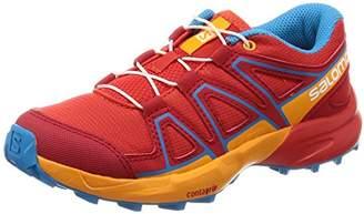 Salomon Unisex Kids' Speedcross J Trail Running Shoes, Lemon Tree