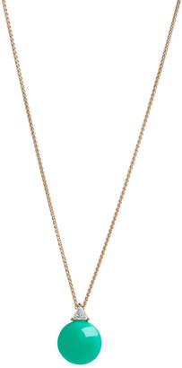 Selin Kent Chrysoprase & Diamond Ada Necklace