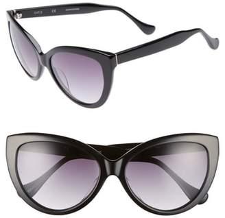 Chelsea28 Curiosity 59mm Cat Eye Sunglasses
