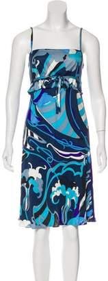 Emilio Pucci Silk Flared Dress
