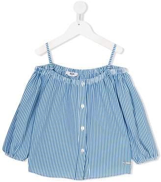 Bardot Msgm Kids striped blouse