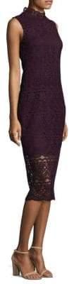 Shoshanna Lace Midi Dress