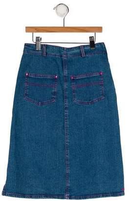Sonia Rykiel Girls' Denim Pencil Skirt w/ Tags