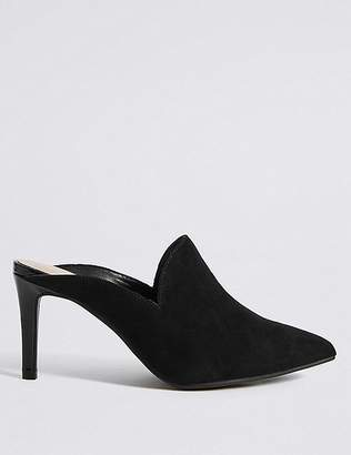 Marks and Spencer Extra Wide Fit Stiletto Heels Mule Shoes