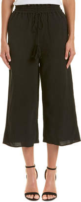 Lucca Couture Fringe Drawstring Culotte