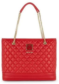 Love Moschino Quitled Chain Strap Shoulder Bag