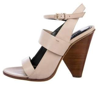 Derek Lam Leather Multi-Strap Sandals