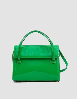 Maryam Nassir Zadeh Marlow Patent Leather Bag