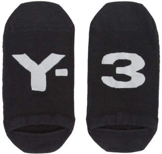 Y-3 Black Logo Invisible Socks