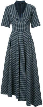 ADAM by Adam Lippes gathered asymmetric dress