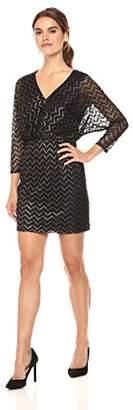 Trina Turk Trina Women's Birch Dress, Black/Gold 2