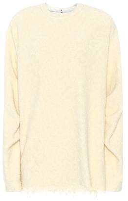 Victoria Beckham Wool and cotton-blend sweater