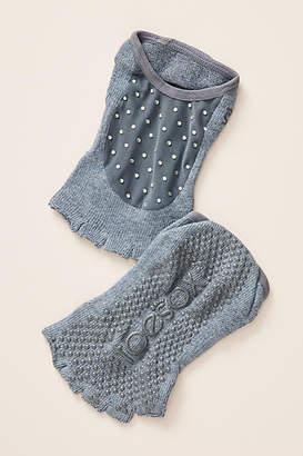 Toesox Luna Icicle Yoga Socks