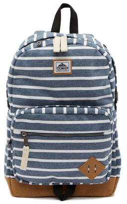 Steve Madden Stripe Jersey Classic Dome Backpack