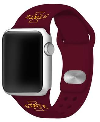 Affinity Bands Iowa State Cyclones 38mm Maroon Silicone Sport Band fits Apple Watch