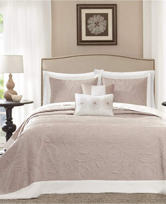 Madison Park Ashbury 5-Pc. Quilted Queen Bedspread Set Bedding