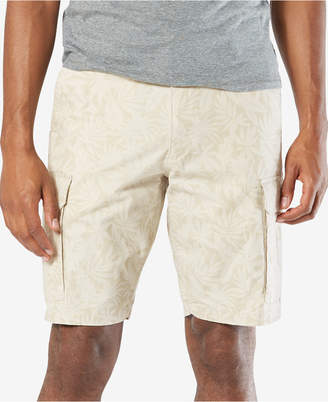 "Dockers Classic Fit 10.5"" Washed Cargo Stretch Shorts D4"